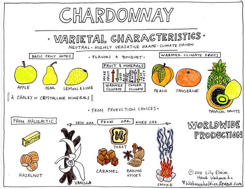 AROMAS CHARDONNAY