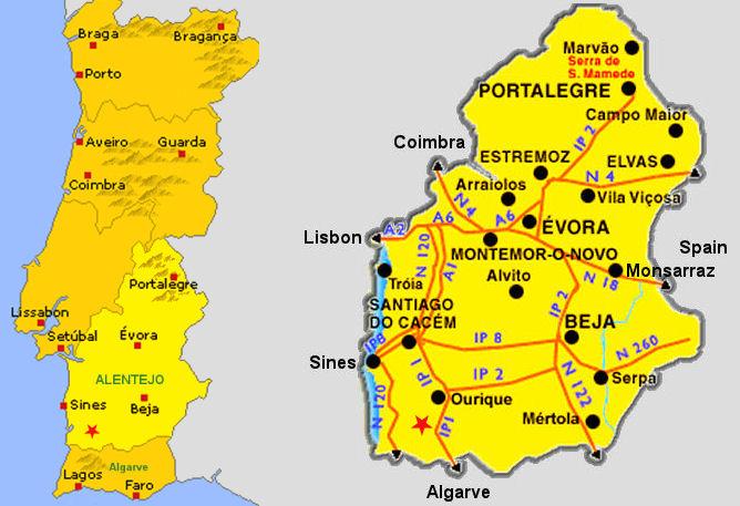 mapa de portugal alto alentejo https://alemdovinho.wordpress.com/2015/09/20/boal o fiel da  mapa de portugal alto alentejo