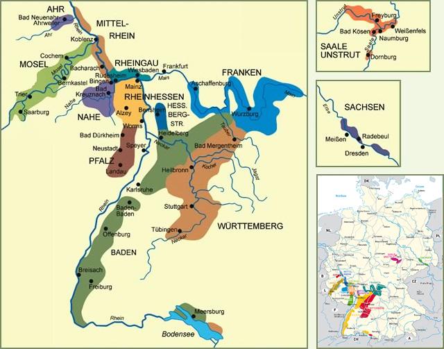 alemanha mapa do vinho