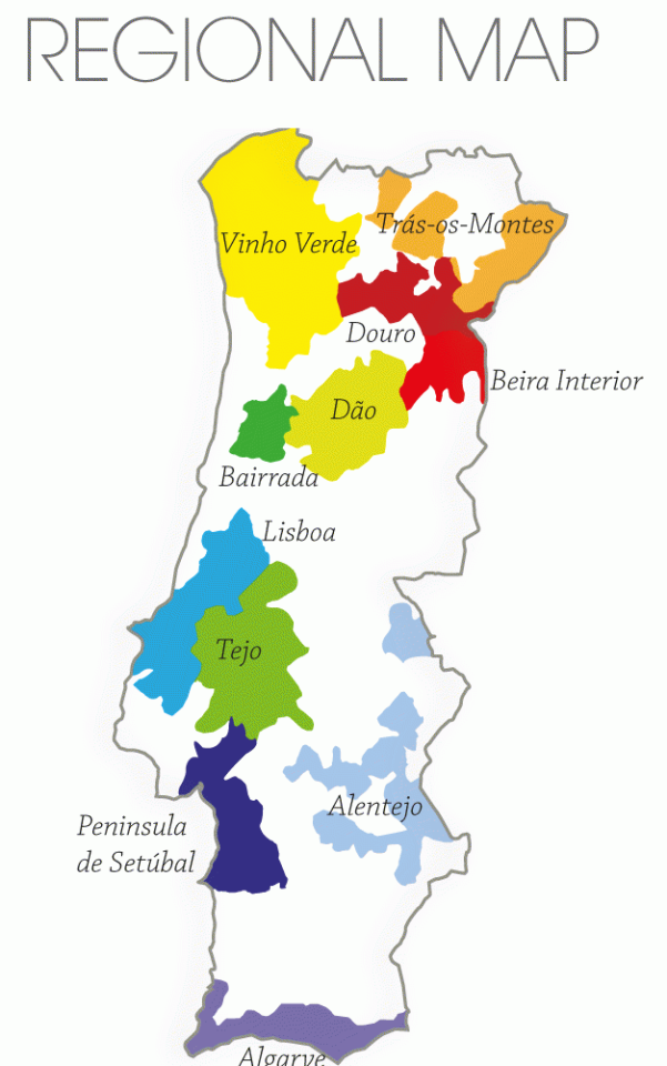mapa terra portugal Mapa do Vinho | ALEMDOVINHO | Página 3 mapa terra portugal